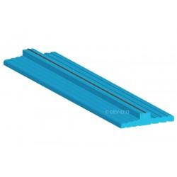 Ciepły parapet, profil podokienny zewnętrzny-wewnętrzny 24/22 - długość 1.2m