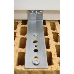 Kątownik FMW 30x150x2,5 płaski niski bez regulacji