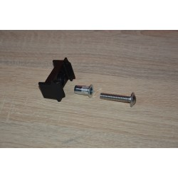 Łącznik do ogrodzeń panelowych na listwę (z nitonakrętką i śrubą)