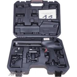 Pistolet akumulatorowy do zapraw chemicznych z walizką oraz baterią w komplecie.
